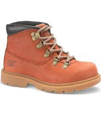 botin colorado hiker rojo cat