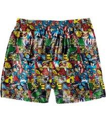cueca samba canção avengers comics - masculino