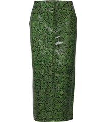 parisagz skirt ma20 knälång kjol grön gestuz