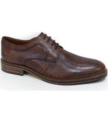 zapato marrón blengio abotinado tokio 163