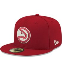 new era atlanta hawks basic 59fifty cap