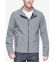 tommy hilfiger men's big & tall classic softshell jacket