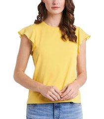 riley & rae suzi flutter-sleeve top, created for macy's