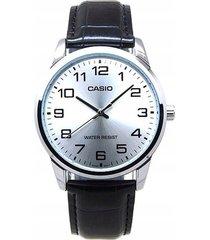 reloj casio caballero elegante mtp-v001l-7b color negro