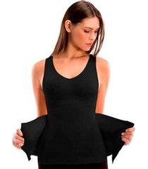 cinta camiseta modeladora redutora slim comfy