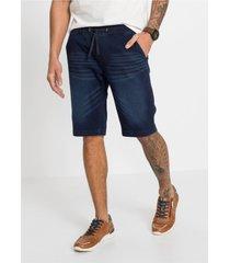 slim fit stretch jeans bermuda, straight