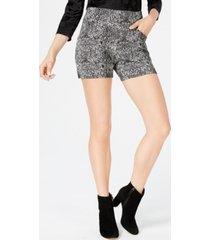 i.n.c. snake print shorts, created for macy's