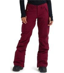 pantalon de nieve wb society pant rojo burton