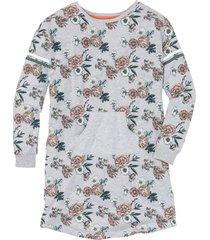 camicia da notte con tasche a marsupio (grigio) - bpc bonprix collection