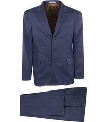 brunello cucinelli single breasted suit