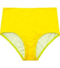 bikini calzón pin up clásico amarillo samia
