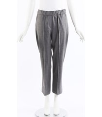 collection banker wool pants