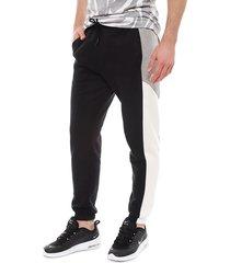 pantalón de buzo nike m nsw pant bb cf cb negro - calce regular