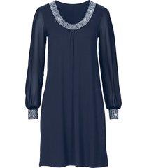 abito con strass (blu) - bodyflirt