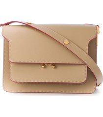 marni tiered shoulder bag - neutrals