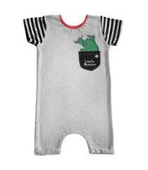 pijama comfy bolso little monster