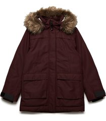 heijken gs yt parka outerwear jackets & coats winter& warmlined jackets rood didriksons