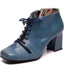coturno azul claro em couro - riverside / passiflora - sophia 5994