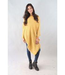 poncho amarillo spiga 31