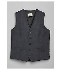 1905 navy slim fit men's suit separate vest by jos. a. bank