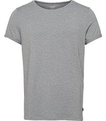 bamboo jimmy tee t-shirts short-sleeved grå resteröds