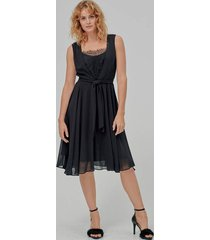 klänning fluent chiffon dress