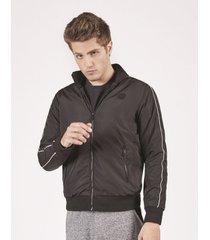 jaquetas & casacos khelf jaqueta masculina nylon vivo preto