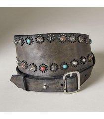 women's ravenna mosaic stud belt