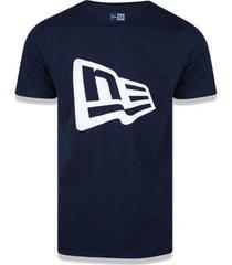 camiseta new era brand flag basic masculina