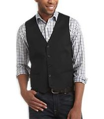 egara black slim fit suit separates vest