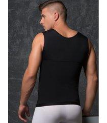 camisilla masculina fájate 11015 - negro