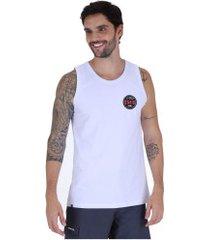 camiseta regata o'neill estampada patch - masculina - branco