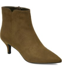 journee collection women's isobel booties women's shoes