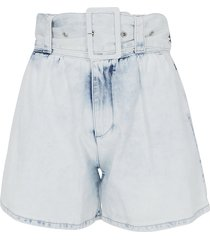 msgm msgm denim shorts