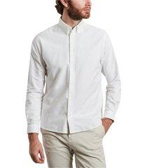 kentin oxford cotton shirt with logo