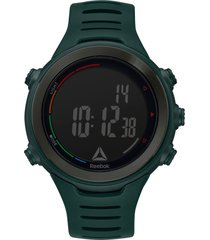 reloj sprint verde musgo reebok