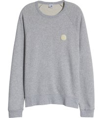 men's nn07 robin 3444 fleece crewneck sweatshirt, size x-large - grey