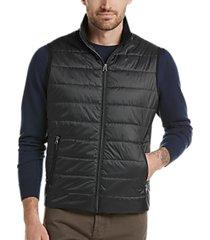 awearness kenneth cole awear-tech black modern fit puffer vest
