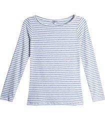 camiseta mujer cuello bandeja