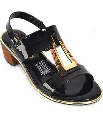 priceshoes sandalia casual dama 022m8379-210-13488negro