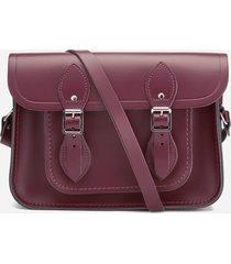 the cambridge satchel company women's 11 inch magnetic satchel - oxblood