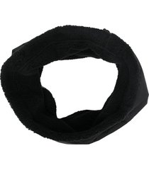 neighborhood logo-print snood - black
