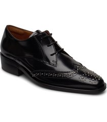 shoes 4702 snörade skor låga svart billi bi