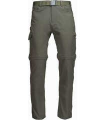 pantalon rampur mix-2 verde militar lippi