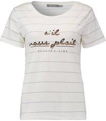 t-shirt sil vous plait wit