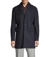 classic heathered coat