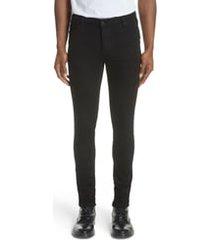men's ksubi van winkle black rebel skinny fit jeans, size 29 - black