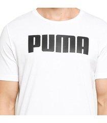 camiseta - blanco - puma - ref : 58012502