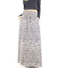 falda ema animal print jacinta tienda