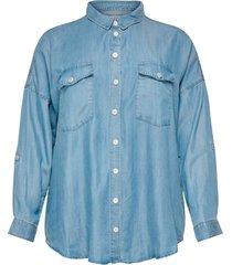 skjorta carush life ls oversize shirt
